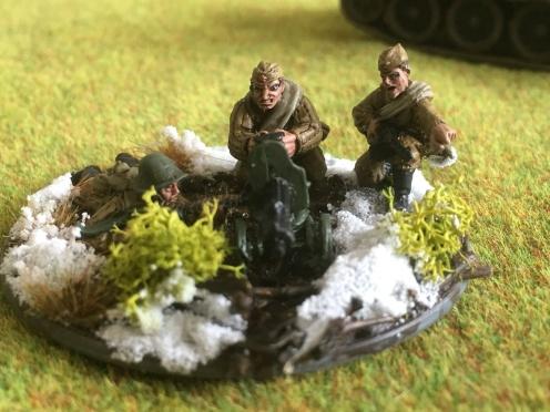 Winter Soviet Medium Machine Gun