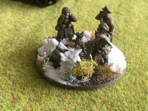 Winter Soviet Medium Mortar