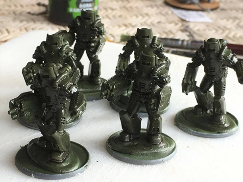 Glossy Finish on Models due to chipping solution