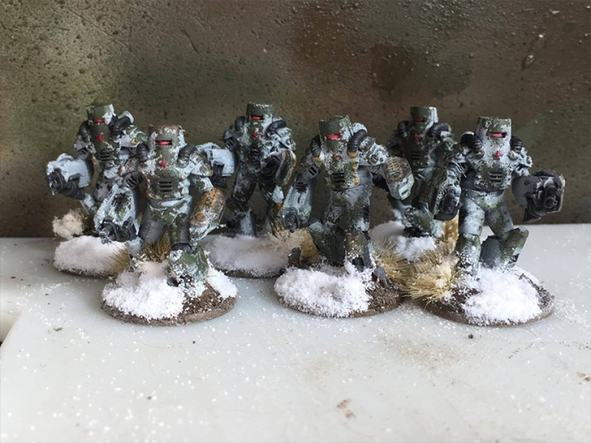 Soviet Heavy Infantry - Unit Shot from front