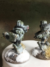 Soviet Heavy Infantry - Close up left