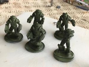 Soviet Heavy Infantry - Russian Green Basecoat