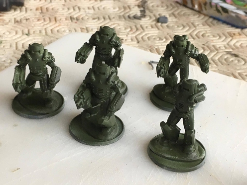 Soviet Heavy Infantry - Russian Green Basecoat