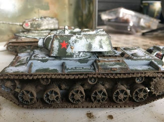 Also available for Bolt Action 2 as a KV-1