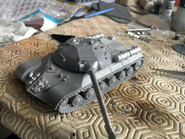 The finished IS-3