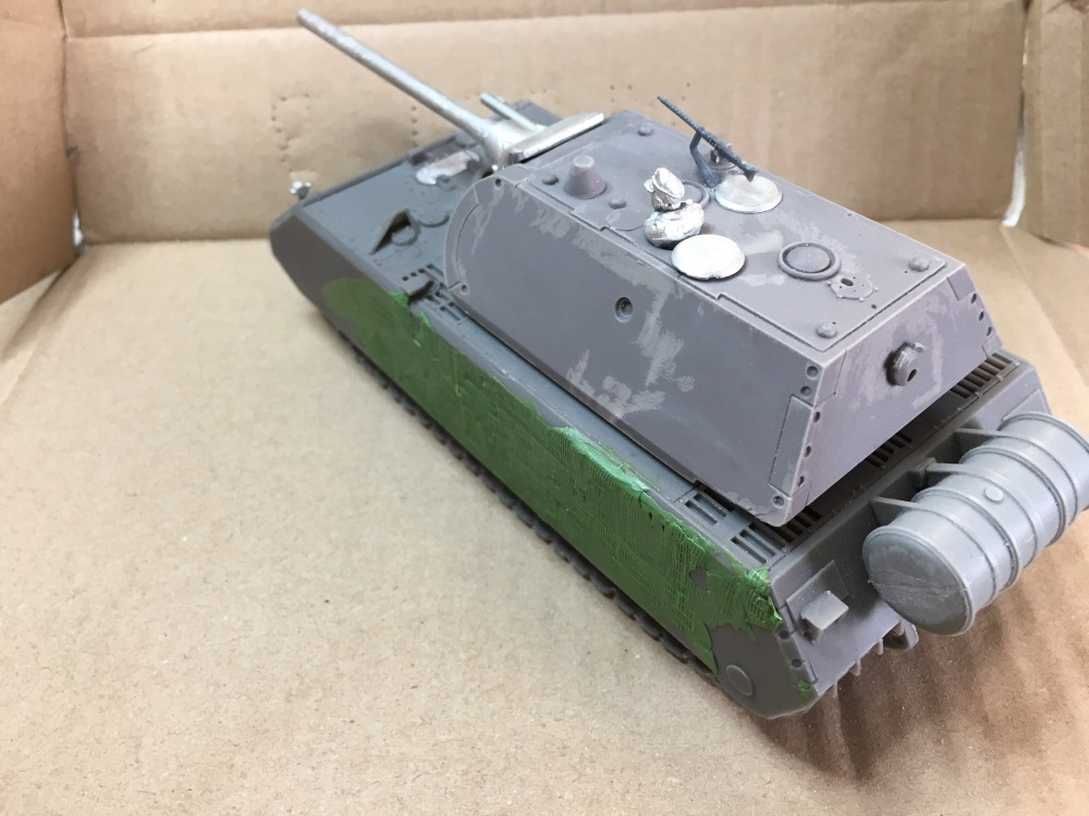 Maus side / rear view