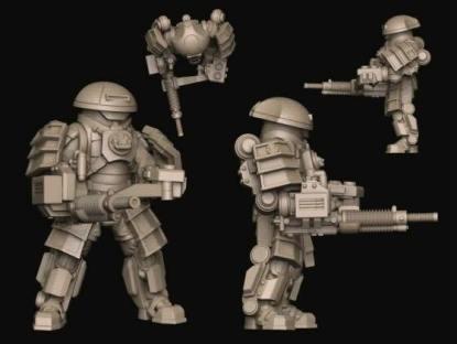 Heavy Infantry - JPN