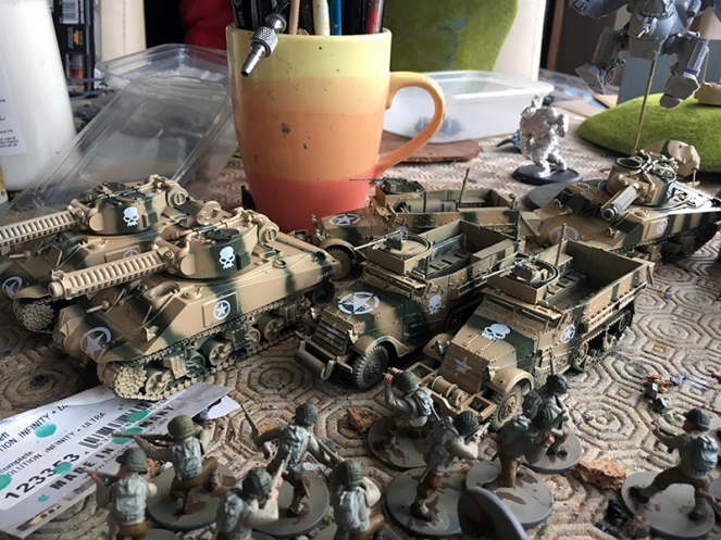 Streaking and Weathering