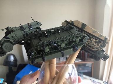 Tanks and Half Tracks