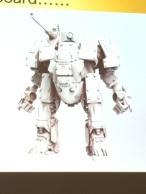 Merlin British Heavy Walker Concept Art