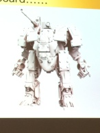 Merlin British Heavy Walker Concept Art